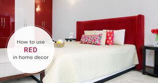 home decor ideas_red bedroom cover image