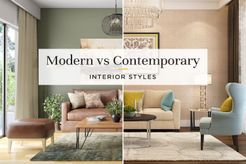 Modern vs Contemporary Home design