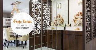 Luxurious & Intricate Latticework for Pooja Rooms