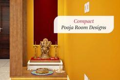 compact puja room
