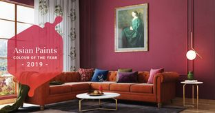 Interiors like Fine Wine with 2019's Hottest Colour