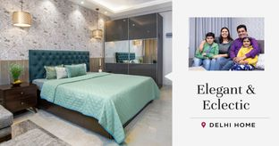 This 4BHK is the Perfect Blend of Styles