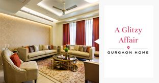 Inside a Spacious 3BHK with Lush Interiors