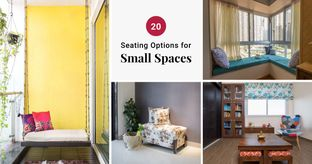 small space interior design-seating