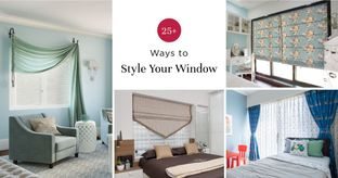 Curtains, Drapes, Blinds & Shades