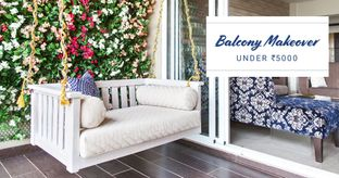 Budget Balcony Makeover Challenge