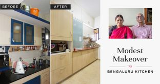 20-Year-Old Kitchen Gets Basic Revamp