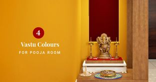 Pooja Room Colours by Vastu Experts