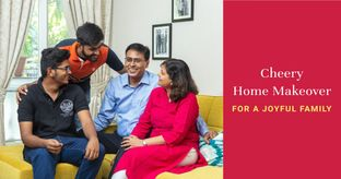 10-yr-old Home Gets Spacious After Revamp