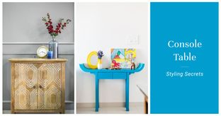 Blog 04 How to style a console table 20th oct