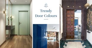 Trendy & Offbeat Front Door Designs