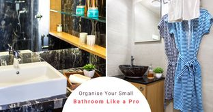 Tidying Up Your Compact Bathroom is Easier Than You Think