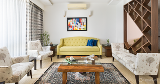 High-end Custom Interiors for 4BHK