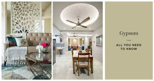 What is Gypsum & How to Use it in Interiors