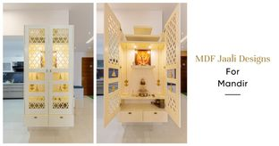 MDF Jaali Designs For Your Mandir at Home