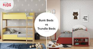 Pick Trundle or Bunk Bed for Compact Rooms
