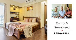 Classy 3BHK That's High on Concealed Storage