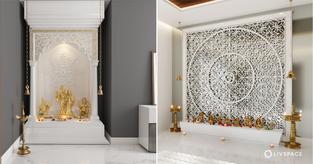 white pooja room designs cover