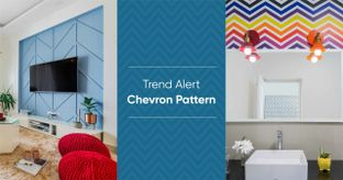 How to Use Chevron in Your Home Interiors?