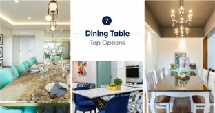 What's the Best Material for Your Dining Table Top?