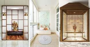 pooja room door designs with glass cover