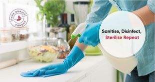 What is the Difference Between Sanitizing, Disinfecting & Sterilizing?