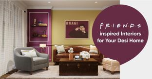 """The One Where We Reimagined Decor from """"Friends"""""""