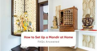Livspace Designers Answer All Your Questions on Setting Up a Mandir at Home