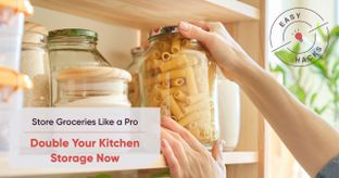 Buying Groceries in Bulk? Increase Kitchen Storage Space with These Expert Tips