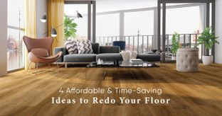 Get a Luxurious New Floor Without Breaking Down the Old One