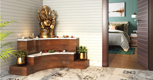 No Dedicated Pooja Room? Here Are Expert Solutions