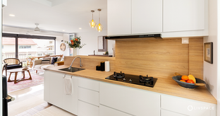 7 Stunning Kitchen Design Ideas for Your HDB to Try Right Now