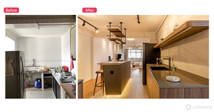Extreme Makeover: This 5-room HDB Flaunts a Simple and Luxurious Look