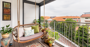 10-Year-Old Resale HDB Gets Staycation Vibes and a Chic Makeover