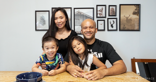 30-Year-Old Jumbo Flat is Renovated to Suit This Lovely Family