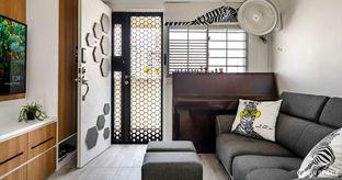 resale 3 room HDB design cover