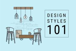 This post breaks down the popular design styles.