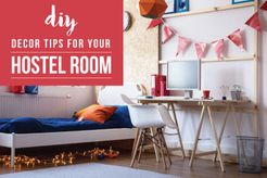 5 Easy Budget-Friendly Decoration Ideas For Your Hostel Room