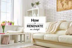 How To Renovate On A Budget