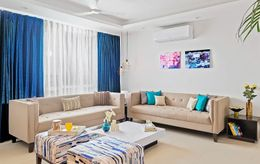 A Sophisticated Noida Home With Splashes Of Color