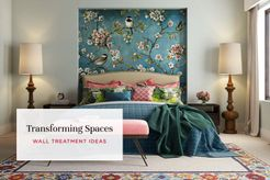 6 Interesting Wall Treatment Ideas To Reinvent Your Home