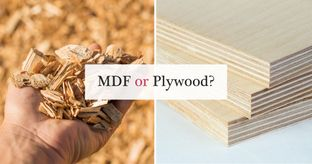 MDF Vs Plywood: Choosing the Right Material