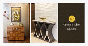 Designs to Inspire: Console Tables For Your Home