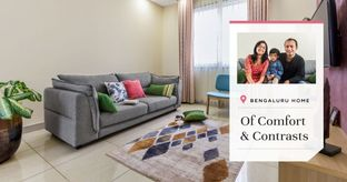 Step Inside this Cosy & Minimal 3BHK