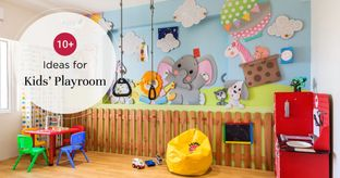 Quirky Kids' Playroom Ideas