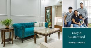 Flawless Design & Detailing for this 3BHK