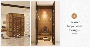 Pooja Room Designs That Stand Apart