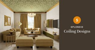 Hall Ceilings That Make a Statement