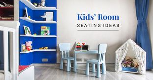 Playful Seating Ideas for Kids Room