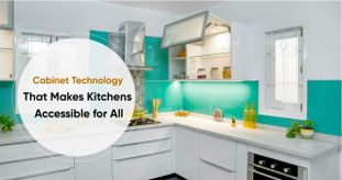 Tap-to-Open Technology for Seamless Kitchens